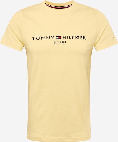 TOMMY HILFIGER Shirt in nachtblau / pastellgelb / rot / weiß, Produktansicht