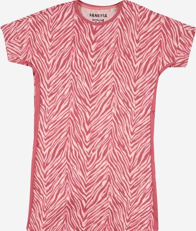 SANETTA Nachtshirt in pitaya / weiß, Produktansicht