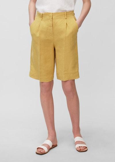 Marc O'Polo Pantalon en jaune, Vue avec modèle