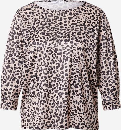 ZABAIONE Shirt 'Leoa' in beige / schwarz, Produktansicht