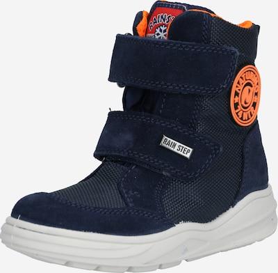 NATURINO Schuh in navy / orange, Produktansicht