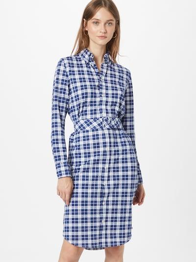 POLO RALPH LAUREN Kleid 'HEIDI' in blau / weiß, Modelansicht