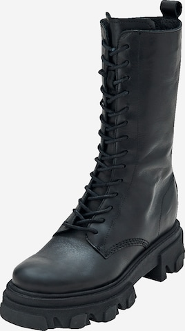 EDITED Lace-Up Boots 'Dorle' in Black