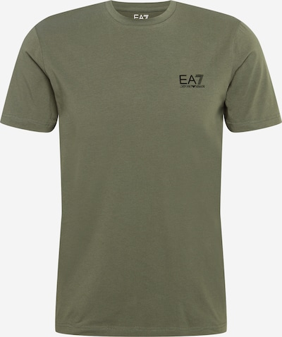 EA7 Emporio Armani Shirt in khaki / black, Item view