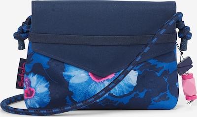 Satch Clutch Brustbeutel in blau, Produktansicht