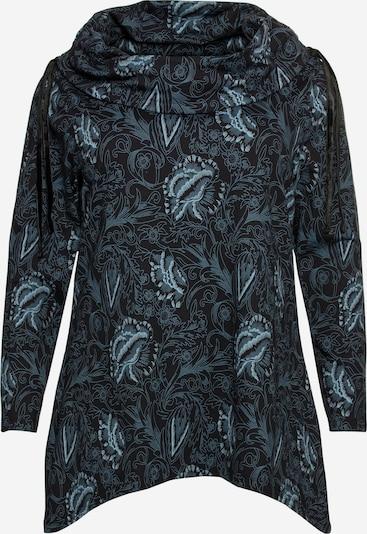 SHEEGO Sweatshirt in blau / schwarz, Produktansicht