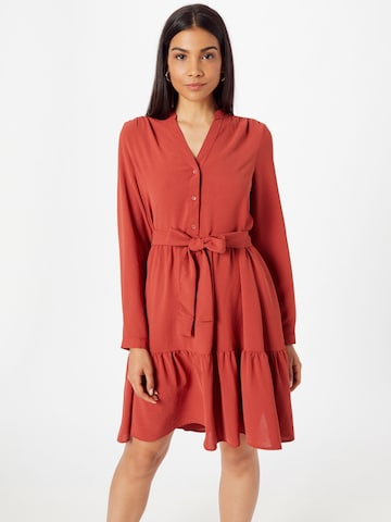 SELECTED FEMME Blousejurk in Rood