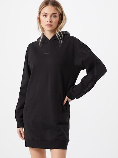 Calvin Klein Jeans Sweatkleid in grau / schwarz, Modelansicht