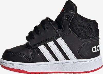 ADIDAS PERFORMANCE Sneaker 'Hoops 2.0' in schwarz / weiß, Produktansicht