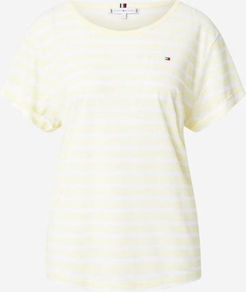 TOMMY HILFIGER T-Shirt 'Vikki' - Žltá
