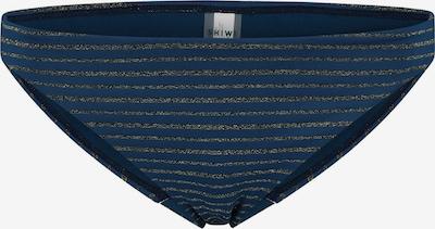 Shiwi Bikinihose in dunkelblau / gold, Produktansicht
