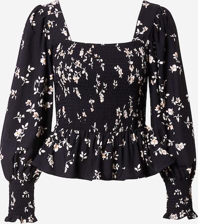 NEW LOOK Bluse 'DANIELLE' in mischfarben / schwarz, Produktansicht