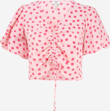 River Island Petite - Blusa en rosa
