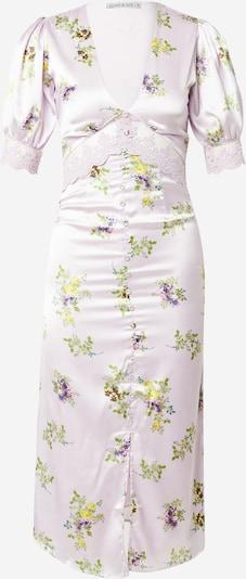 Hope & Ivy Kleid 'THE MABEL' in gelb / hellgrün / lila, Produktansicht