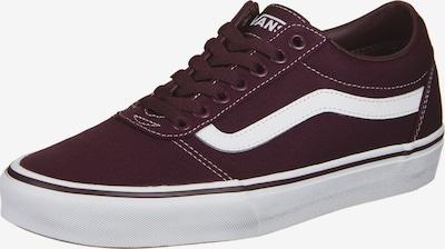 VANS Sneaker 'Ward' in bordeaux / weiß, Produktansicht