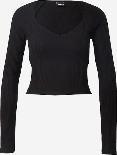 Tricou 'Eda' Gina Tricot pe negru, Vizualizare produs