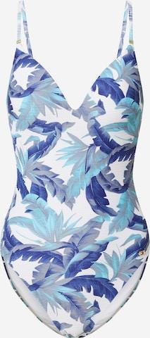 Costum de baie întreg de la Tommy Hilfiger Underwear pe albastru