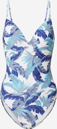 Tommy Hilfiger Underwear Maillot de bain en bleu / bleu roi / blanc, Vue avec produit