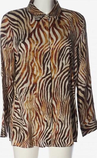 SEM PER LEI. Blouse & Tunic in XXL in Bronze / Light orange / Wool white, Item view
