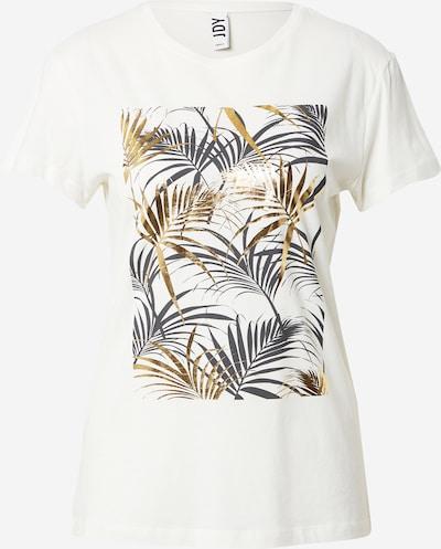 JDY T-shirt 'KLARA' en beige / olive / noir / blanc, Vue avec produit
