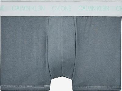 Boxeri Calvin Klein Underwear pe turcoaz / gri / alb, Vizualizare produs