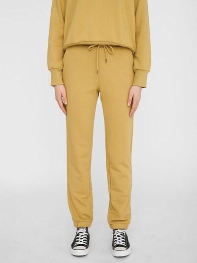 Noisy may Pantalon 'Lupa' en jaune foncé, Vue avec modèle