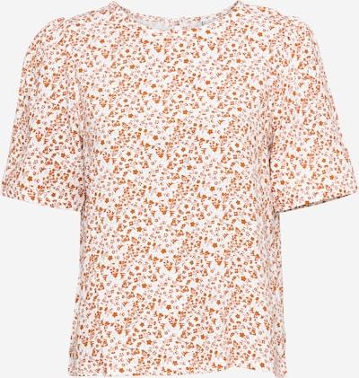 Sublevel Bluse in orange / offwhite, Produktansicht