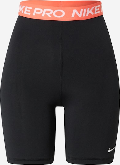 Pantaloni sport NIKE pe portocaliu / negru / alb, Vizualizare produs