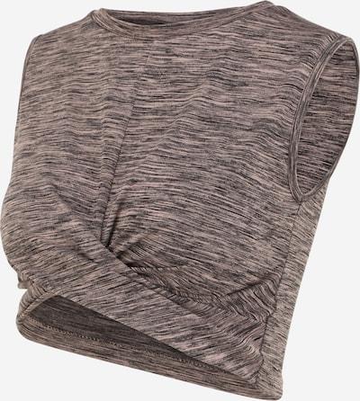 MAMALICIOUS Haut 'Arina' en gris / gris clair, Vue avec produit