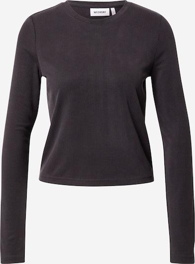 WEEKDAY Shirt 'Cris' in schwarz, Produktansicht