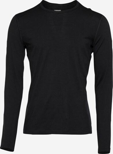 Icebreaker Sporta krekls '200 Oasis' melns, Preces skats