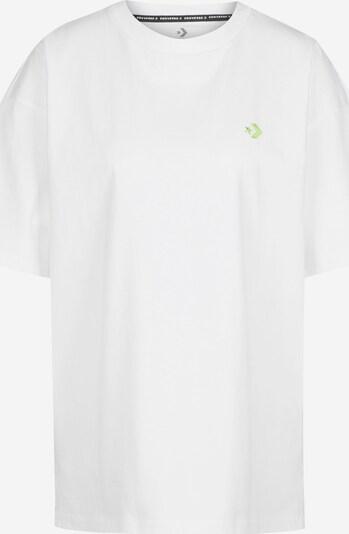CONVERSE T-Shirt in blau / weiß: Frontalansicht