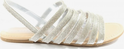 JustFab Komfort-Sandalen in 40,5 in silber, Produktansicht