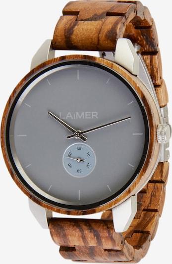 LAiMER Uhr 'Florin' in braun / anthrazit, Produktansicht