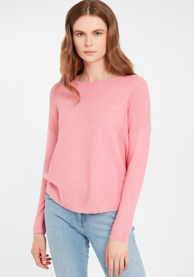 b.young Pullover in pink / rosé, Modelansicht