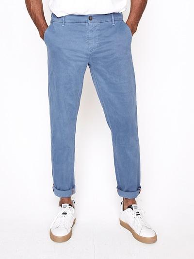 Five Fellas Chinohose 'Tim' in blau, Modelansicht