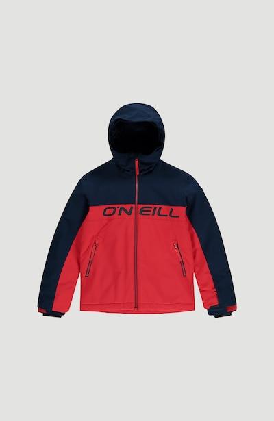 O'NEILL Skijacke 'Felsic' in dunkelblau / feuerrot, Produktansicht
