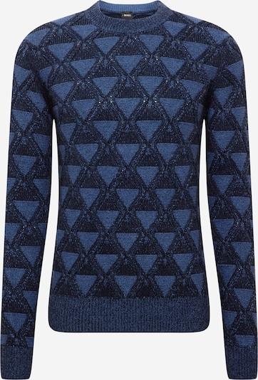 Pullover 'Karlbert' BOSS Casual di colore blu cielo / blu scuro, Visualizzazione prodotti