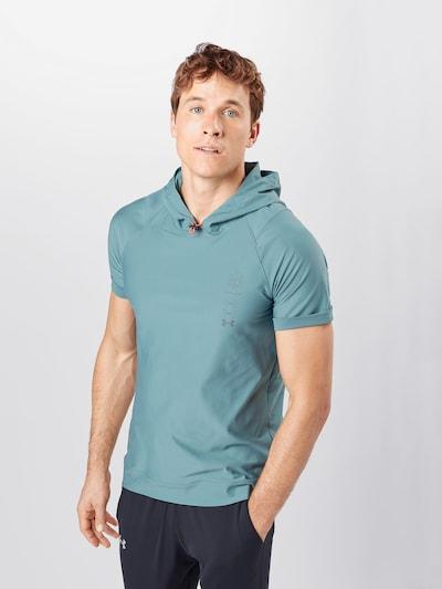 UNDER ARMOUR Functioneel shirt in de kleur Lichtblauw: Vooraanzicht