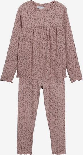 MANGO KIDS Pajamas in Brown / Dusky pink, Item view