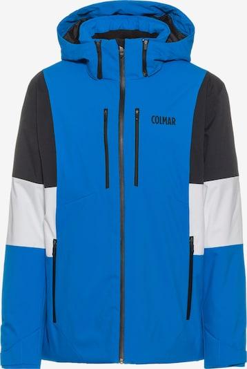 Colmar Skijacke in royalblau / schwarz / weiß, Produktansicht