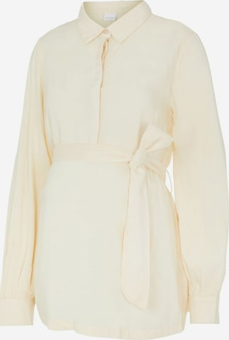 Camicia da donna 'Lia' di MAMALICIOUS in beige
