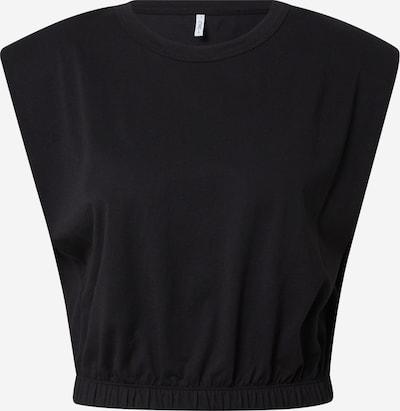 ONLY Haut 'LISA' en noir, Vue avec produit