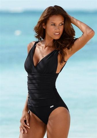 Costume intero modellante 'Laura' di LASCANA in nero