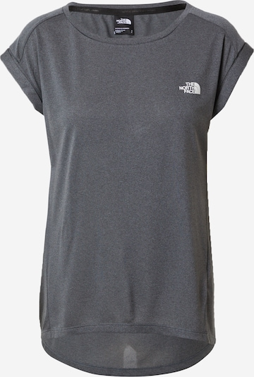 THE NORTH FACE Performance shirt in mottled grey, Item view