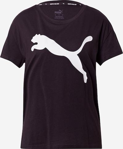 Tricou funcțional PUMA pe negru / alb, Vizualizare produs
