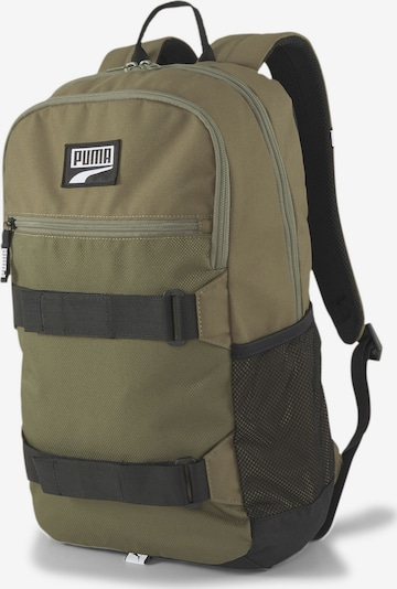 PUMA Rucksack 'Deck' in khaki / schwarz, Produktansicht