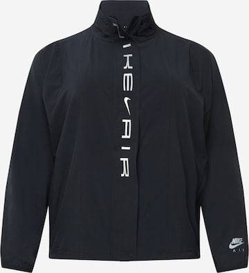 NIKE Athletic Jacket in Black