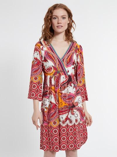 Ana Alcazar Kleid  'Dolyra' in mischfarben, Modelansicht