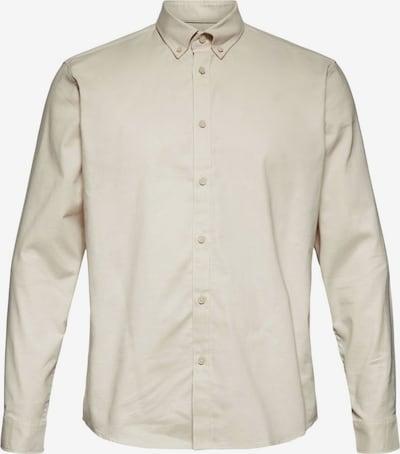 ESPRIT Zakelijk overhemd in de kleur Lichtbeige, Productweergave